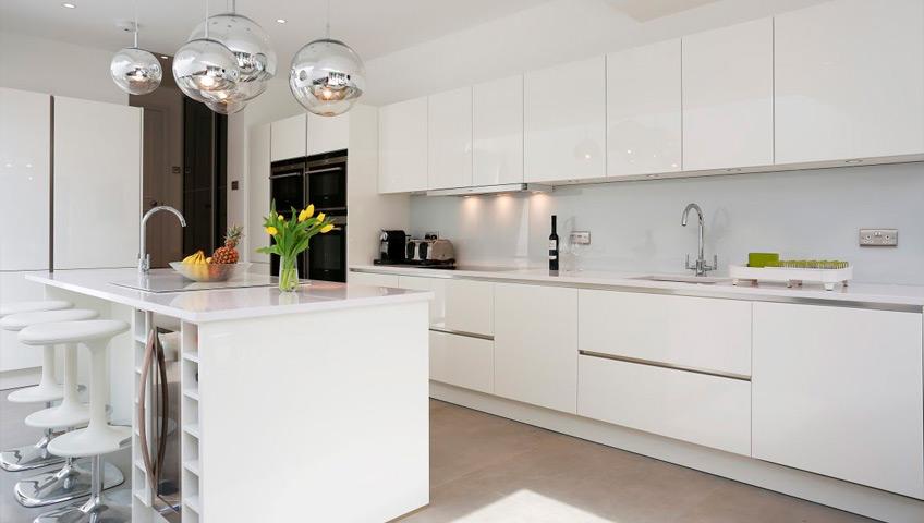 Cocina en color blanco - Cocinas en color blanco ...